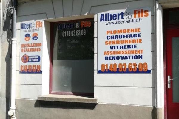 Plombier serrurier chauffagiste vitrier maisons alfort 94700 albert et fils - Maison couture et fils ...